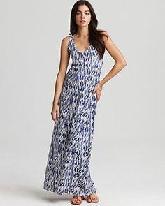 Soft Joie Dress - Emilia Ikat Zig Zag Maxi Dress | Bloomingdale's