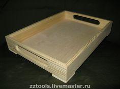 Купить Поднос деревянный № 2 - поднос, деревянный поднос, заготовки для декупажа, заготовки для творчества