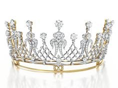 The diamond tiara given to Elizabeth Taylor by her late husband Mike Todd sold for $4.22 million
