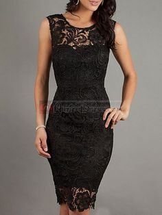 Mermaid Bateau Neckline Lace Knee-length Prom Dress