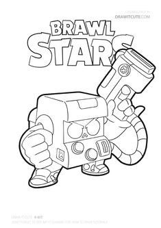 Brawl Stars Tapety/Wallpapers - Color for fun Ninjago Coloring Pages, Star Coloring Pages, Mermaid Coloring Pages, Pokemon Coloring Pages, Coloring Pages For Boys, Blow Stars, 8 Bits, 8bit Art, Star Character
