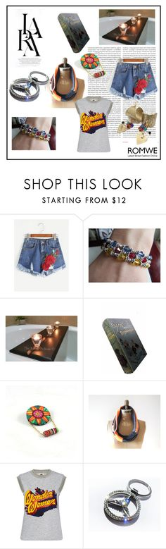 """Wonder woman"" by torijaink ❤ liked on Polyvore featuring Oris, Lara, Paul & Joe Sister and etsy"