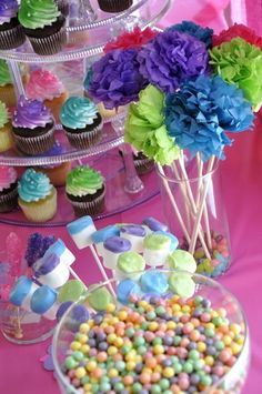 """Photo 9 of 30: Tutu's and sweets / Birthday """"TuTu FAB, SUGAR, SPICE and everything NICE"""" 