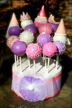 PrincessCakePops2 by PetiteDelightsbyMichele, via Flickr