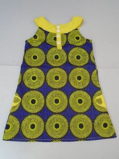 Ankara Styles For Kids, African Dresses For Kids, Latest African Fashion Dresses, African Print Dresses, African Print Fashion, African Wear, Ankara Clothing, Baby Girl Dresses, Kids Outfits