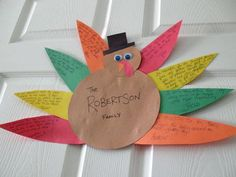Thanksgiving Crafts from Kaboose