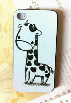 Lovely Cartoon Giraffe Case for iPhone Cool Iphone Cases, Cool Cases, Cute Phone Cases, Ipod 5, Iphone 8 Plus, Iphone 4, Handy Case, Coque Iphone, Mobile Cases