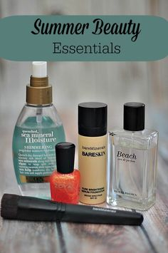 Summer Beauty Essentials To Keep Your Hair and Skin Beautiful