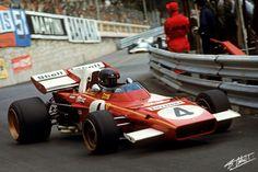 Jacky Ickx - 1971 Ferrari