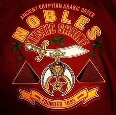 Ancient Egyptian Arabic Order Nobles of the Mystic Shrine
