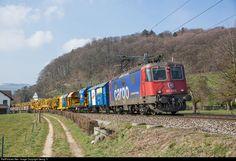 RailPictures.Net Photo: 421 393 SBB Re 421 at Otelfingen, Switzerland by Georg Trüb