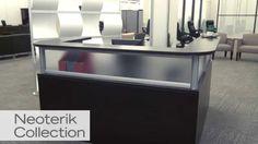 Reception L Desk | Officient Neoterik | National Business Furniture