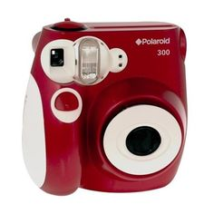 Polaroid PIC-300R 300 Instant Camera ($70) ❤ liked on Polyvore featuring camera, fillers, electronics, fillers - red, polaroids and magazine