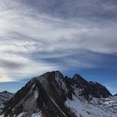 #pyrenees #paysage #mountains #sky #cloud #cauterets #cirquedulys #snow #ski #instaski #photography #picoftheday by marinemargatsni