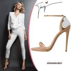 Charlize Theron in Giuseppe Zanotti Metal Detail Sandal [CELE15001] - $214.00 : Discounted Christian Louboutin,Jimmy Choo,Valentino Shoes Online store