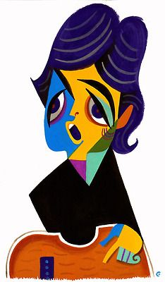 Paul McCartney by David Cowles (Picasso like) Funny Caricatures, Celebrity Caricatures, Beatles Art, The Beatles, Pablo Picasso, Pop Art, Create A Comic, Caricature Artist, Arte Pop