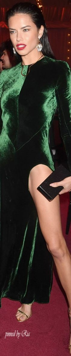 Adriana Lima at Madonna Benefit in Miami December 2016 l Ria