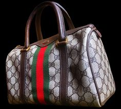 "Vintage Gucci ""Speedy Bag"" - Every girl should have some of this arm candy!"