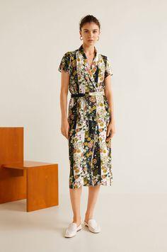 Šaty a tuniky Casual (pro každý den) - Mango - Šaty Gracia Klasické Šaty 776fca25bb