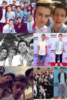 The guys at Billboard awards 2015 :) Cameron Dallas, Nash Grier, Carter Reynolds, Jack Johnson, Jack Gilinksy, Matthew Espinosa