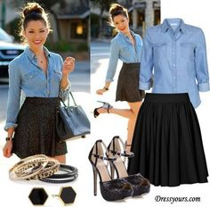 Cute outfit for work, date, or church