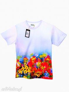 Bluzka damska - Abstract Spring flowers Jakość PREMIUM!. $34