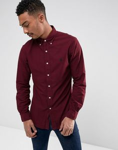 Get this Polo Ralph Lauren's basic shirt now! Click for more details. Worldwide shipping. Polo Ralph Lauren Slim Fit Shirt Garment Dye Buttondown in Burgundy - Red: Oxford shirt by Polo Ralph Lauren, Breathable oxford cotton, Button down collar with a third button to reverse, Embroidered polo player made up of 982 individual stitches, Curved hem, Slim fit - cut close to the body, Machine wash, 100% Cotton, Our model wears a size Medium and is 187cm/6'1.5 tall. Naming his brand after a game…