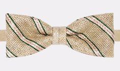 """County Club Grassy"" bow tie, handmade embodery  http://ikonizaboy.com/produits.php?p=68#details"