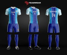 Here are a couple of our new soccer uniform designs for both youth and adult.Get your custom uniform today Soccer Kits, Soccer Games, Football Kits, Soccer Uniforms, Team Uniforms, Football Jerseys, Best Football Players, Good Soccer Players, Sport Wear