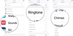 How to customize ring tones