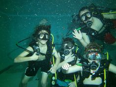 Kids love our scuba diving birthday parties!
