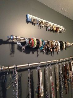 Moldings and roof rails also useful for storing jewelry