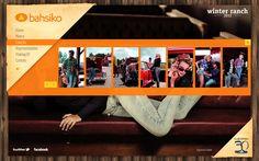Desenvolvimento do site da Coleção Inverno 2012 da Bahsiko, marca do Grupo Latreille.