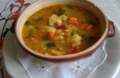 Bean soup with super gnocchi 200 g white beans 2 pcs carrots 1 parsley . - Bean soup with super gnocchi 200 g white beans 2 pcs carrots 1 parsley kohlrabi celery leaves t - Cooking Recipes, Healthy Recipes, Bean Soup, White Beans, What To Cook, Food 52, Gnocchi, Parsley, Cheeseburger Chowder