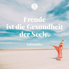 Freude ist die Gesundheit der Seele. -Aristoteles  #yogaeasy Yoga Meditation, Yoga Online, Easy Yoga, Yoga Video, Studio, Yoga Inspiration, Movies, Movie Posters, Quote Of The Day