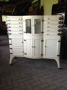 medical cabinet Industrial Davidowski European Antique Pine Furniture wholesale Holland