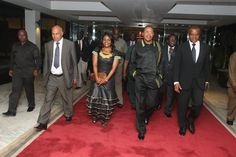 National Attire Debate: Strong Fashion statement from President Kikwete and MP Catheirne Magige:
