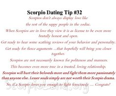 Scorpio Dating Tip #32: How Does a Scorpio Show Love? |