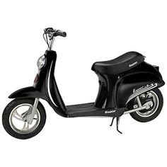 Buy Razor Pocket Mod Miniature Euro Electric Kids Ride On Retro Scooter, Black at Wish - Shopping Made Fun