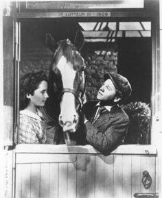 Elizabeth Taylor & Mickey Rooney ~ National Velvet ~ 1944