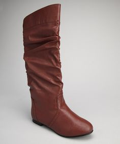 Chocolate Slouch Boot  Misty Schroeder Griffenberg I ordered this today  after our convo about not 9e00d861e