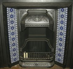 Gothic Pugin Fireplace Tiles Set 001 Gothic Geometric Tile ref Gothic 001 set from Pilgrim Tiles Craftsman Fireplace, Fireplace Seating, Candles In Fireplace, Fireplace Bookshelves, Paint Fireplace, Shiplap Fireplace, Limestone Fireplace, Fireplace Mirror, Concrete Fireplace