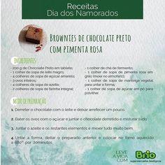 """48 Gostos, 2 Comentários - Brio Supermercados Biológicos (@briobiologico) no Instagram: """"Prepare com amor e brio pela vossa saúde ❤️️ #brownie #receita com amor #loveisintheair❤️…"""""""