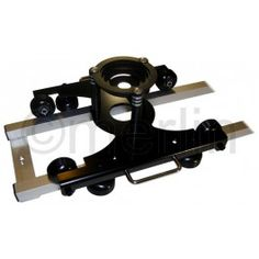 Rail Tracking Camera Slider Dolly With 75 inch tracks and 100 mm Hi-Hat Merlin Video Dolly
