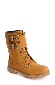 Free shipping and returns on Timberland Earthkeepers® Waterproof Double Strap Boot (Women) at Nordstrom.com. A double-buckle strap amplifies the workwear-inspired appeal of an iconic lace-up boot designed with Timberland Earthkeepers' eco-conscious philosophy and constructed using sustainable, recycled materials. The waterproof finish ensures flawless style even in wet, rainy conditions, while the side zipper makes for easy on and off.