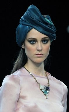 David_Christian_1229956 #MBFW #Madrid #turbante
