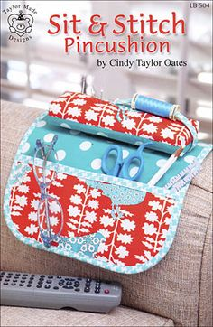Sit & Stitch Pincushion by Cindy Taylor Oates available now at connectingthreads.com JUST $6.00 »