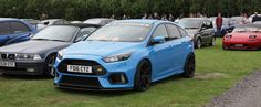Modified Ford Focus RS at Cars & Coffee, Cheshire.