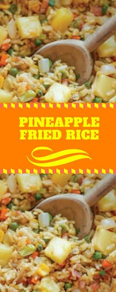 PINEAPPLE FRIED RICE | Alfia Kitchen World's Best Food, Good Food, Yummy Food, Easy Delicious Recipes, Healthy Recipes, Pineapple Fried Rice, Nasi Goreng, Asian Recipes, Ethnic Recipes