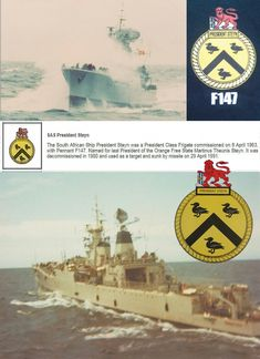 Sa Navy, Free State, Defence Force, Battleship, South Africa, Military, War, Africans, History